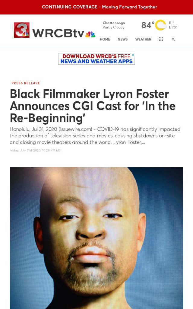 Press Coverage @ WRCBtv for Lyron Foster